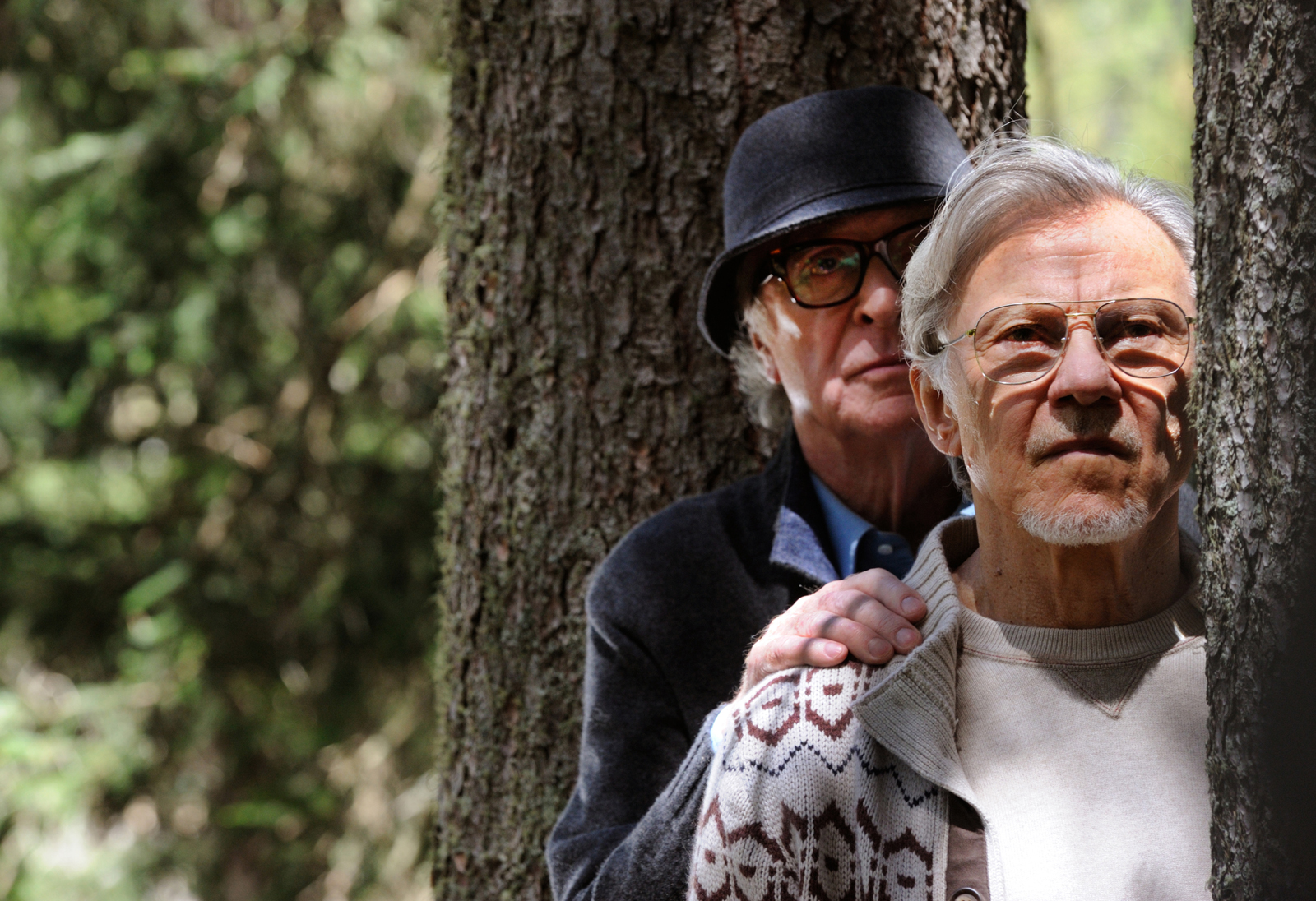 "Michael Caine as ""Fred"" and Harvey Keitel as ""Mick"" in YOUTH. Photo by Gianni Fiorito. © 2015 Twentieth Century Fox Film Corporation All Rights Reserved"